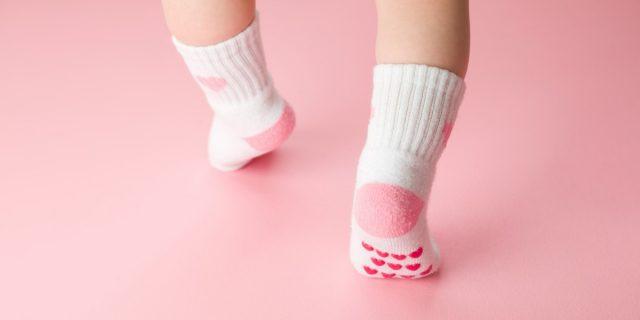 Calze antiscivolo per bambini, per i primi passi del bebè a casa e all'asilo nido