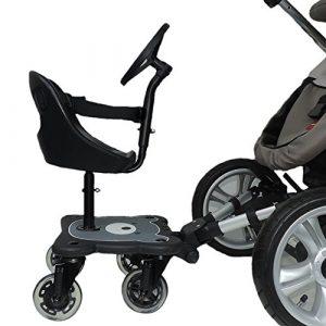 Eichhorn Cozy B Rider - Pedana con seggiolino per passeggini