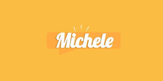Michele, significato e origine del nome