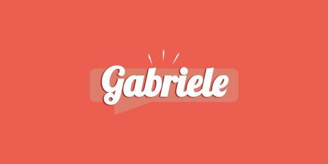 Gabriele, significato e origine del nome