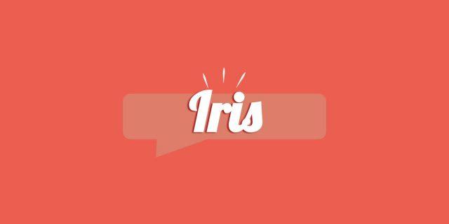 Iris, significato e origine del nome