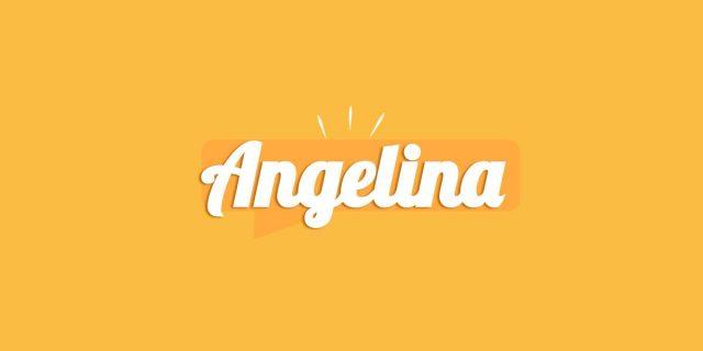 Angelina, significato e origine del nome