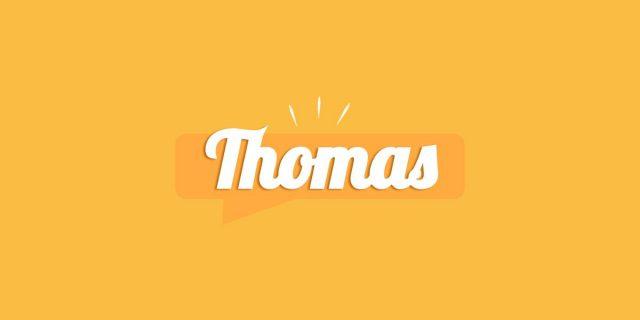 Thomas, significato e origine del nome