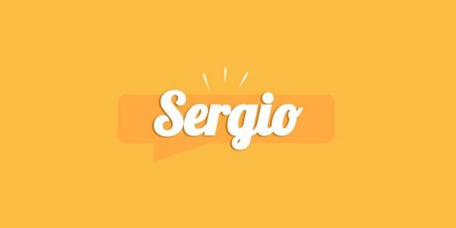 Sergio, significato e origine del nome