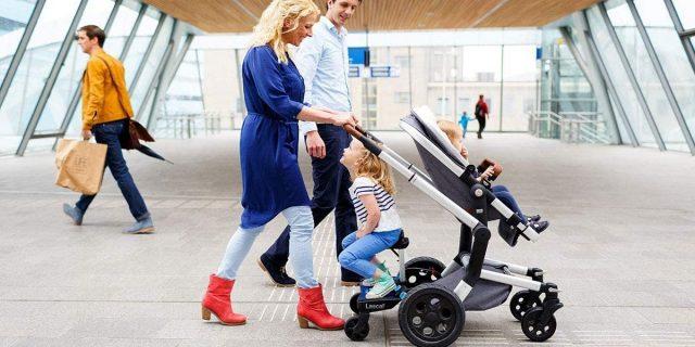 Pedana per passeggino, il confort di trasportare due bambini di età differenti