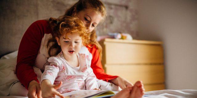 Leggere ai bambini migliora il loro vocabolario, lo studio