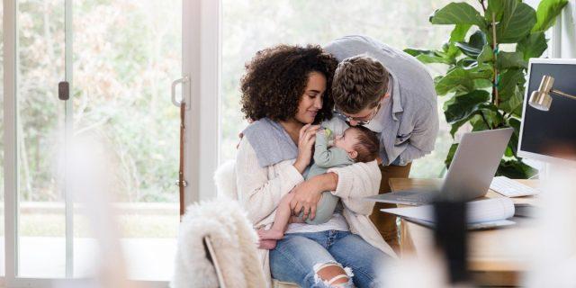 Una coppia felice ha l'81% di possibilità di diventare genitori felici
