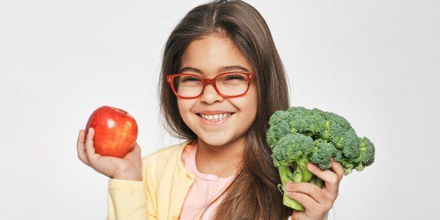 I bambini che mangiano più frutta e verdura godono di maggiore benessere mentale