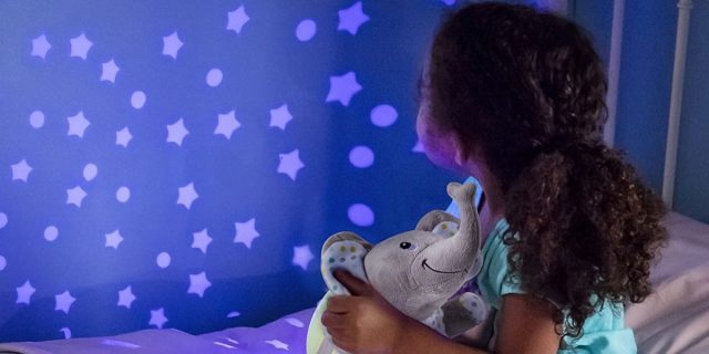 Proiettore per bambini, ideale per creare un'atmosfera rilassante in cameretta