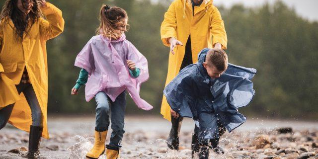 Impermeabile per bambino, antipioggia indispensabile per l'autunno