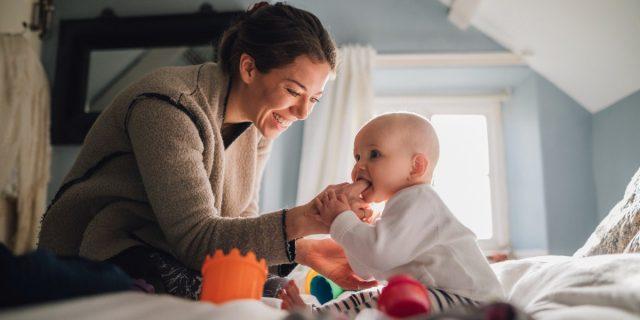 Gel per la dentizione del neonato, un sollievo per i primi dentini del bebè
