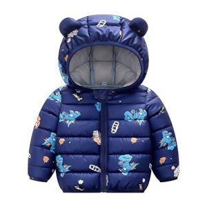 PROTAURI Bambini Inverno Cappotto con Cappuccio