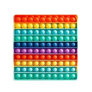 Popit gioco, grande quadrato da Fidget Toys Set, Antistress per Bambini