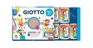 Giotto Party Gifts Acquerellini - 8 astucci da 15 pz