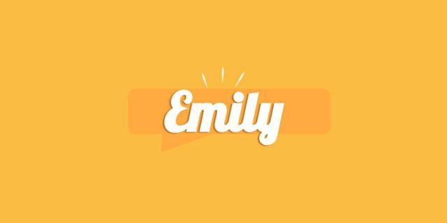Emily, significato e origine del nome