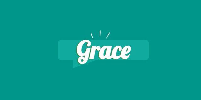 Grace, significato e origine del nome