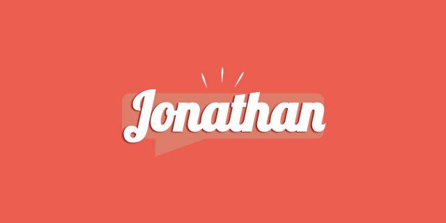 Jonathan, significato e origine del nome