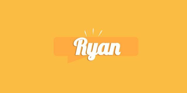 Ryan, significato e origine del nome