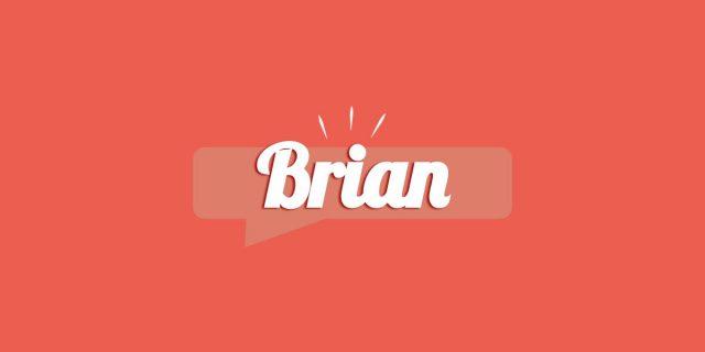 Brian, significato e origine del nome