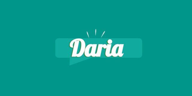 Daria, significato e origine del nome