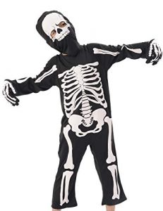 IKALI Costume Halloween Bambino da Scheletro