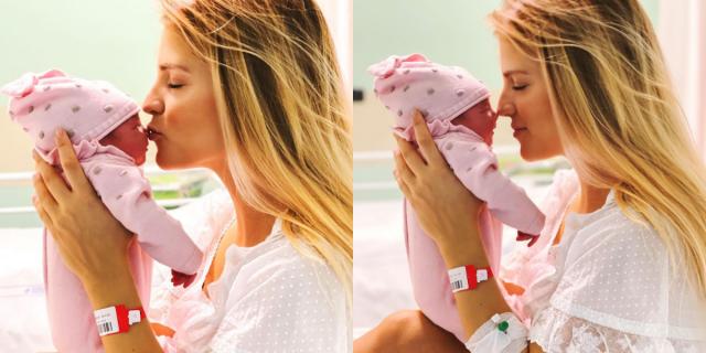"""Ilaria Di Vaio ha partorito la sua terza bimba: """"Dorotea, il nostro dono"""""""